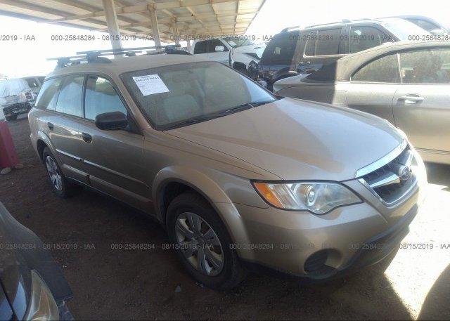 Inventory #955638929 2008 Subaru OUTBACK