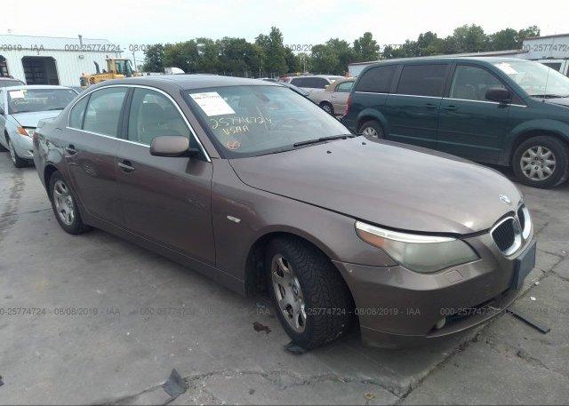 Inventory #105036352 2004 BMW 525