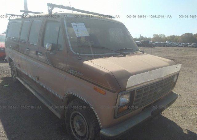 Inventory #282591573 1987 FORD ECONOLINE