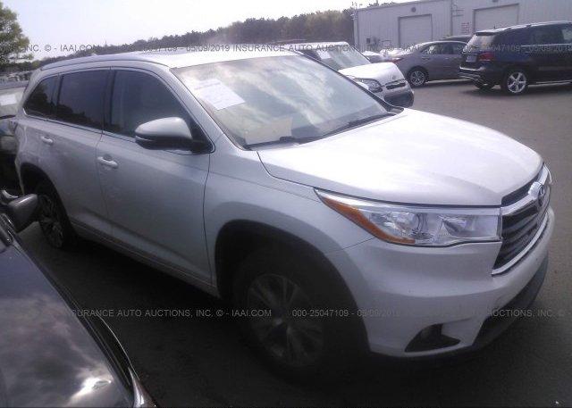 Inventory #459478120 2014 Toyota HIGHLANDER