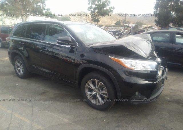 Inventory #254435836 2015 Toyota HIGHLANDER