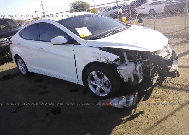 Inventory #999915785 2013 Hyundai ELANTRA
