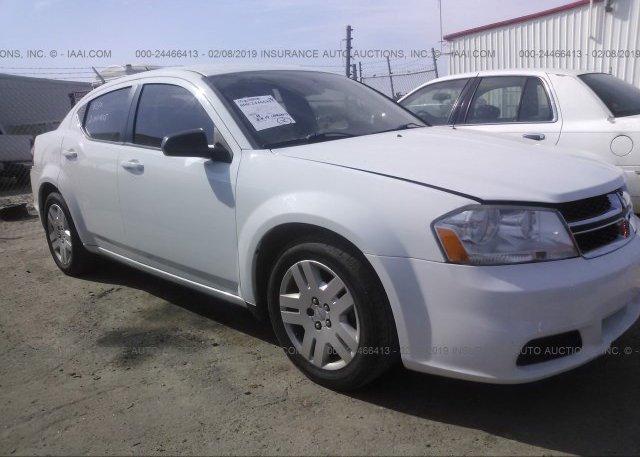 Inventory #724742562 2013 Dodge AVENGER