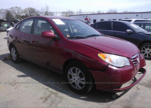 Inventory #349057598 2010 Hyundai ELANTRA