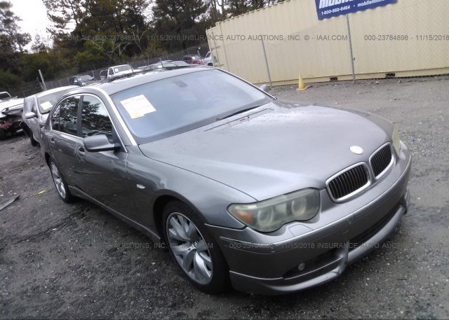 Inventory #125267463 2004 BMW 745