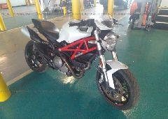 2013 Ducati MONSTER - ZDM1RANN0DB066857 Left View