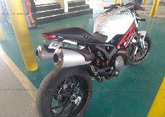 2013 Ducati MONSTER - ZDM1RANN0DB066857 rear view