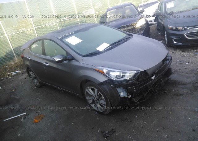 Inventory #210505043 2014 Hyundai ELANTRA