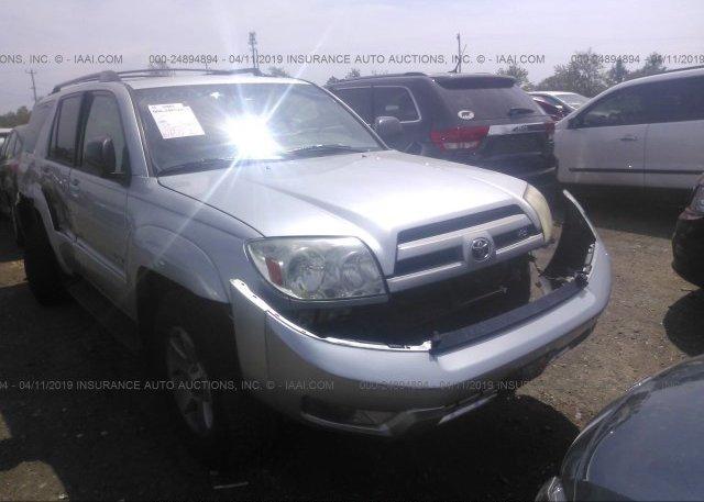 Inventory #721610990 2003 Toyota 4RUNNER