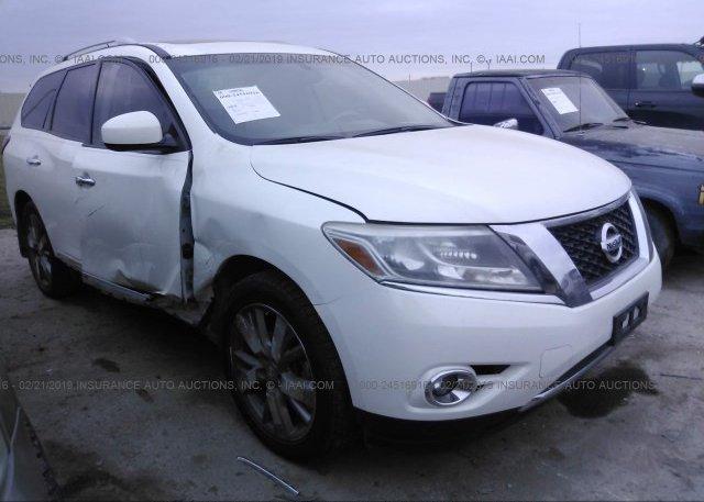 Inventory #684792500 2014 Nissan PATHFINDER