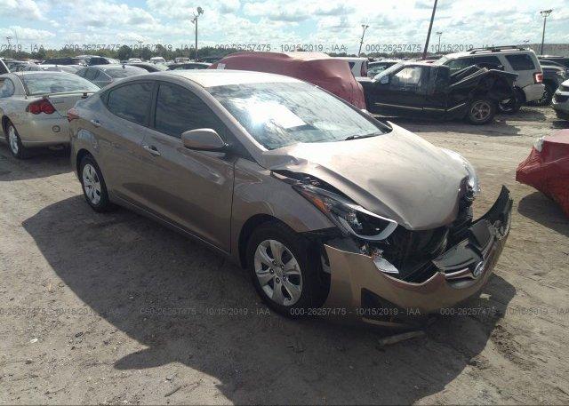 Inventory #647797684 2016 Hyundai ELANTRA