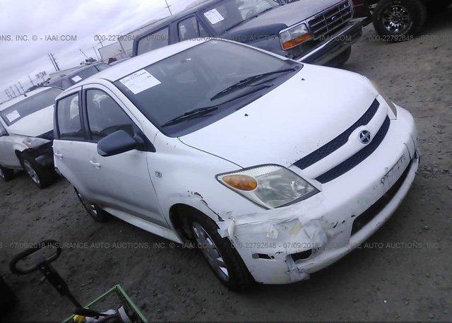 2006 TOYOTA SCION XA   JTKKT624360157395 X2 · 2006 ...