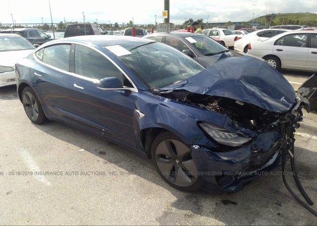 Inventory #409881792 2018 Tesla MODEL 3