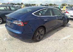 2018 Tesla MODEL 3 - 5YJ3E1EA7JF154293 rear view