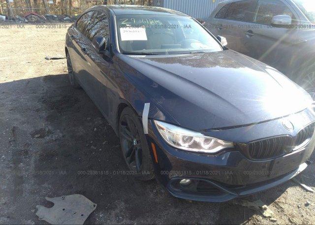 из сша 2016 BMW 4 SERIES WBA4C9C53GG140031