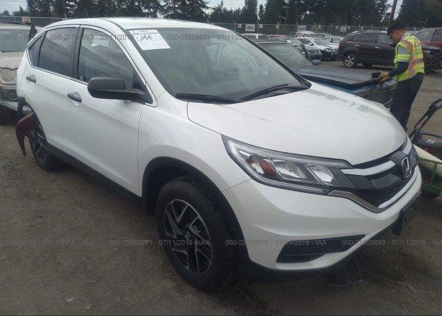 Inventory #186866947 2016 Honda CR-V