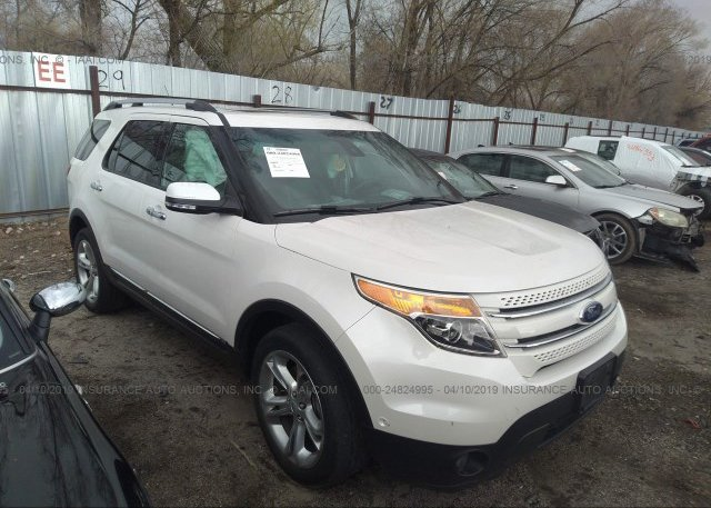 Inventory #775005197 2015 FORD EXPLORER