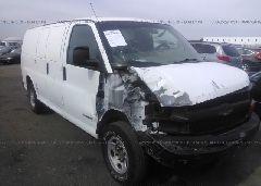 2004 Chevrolet EXPRESS G3500 - 1GCHG35U041224770 Left View