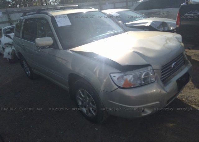 Inventory #286276045 2007 Subaru FORESTER