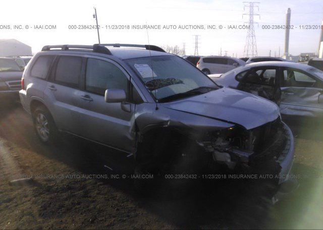4a4jm2as3be034162, salvage silver mitsubishi endeavor at