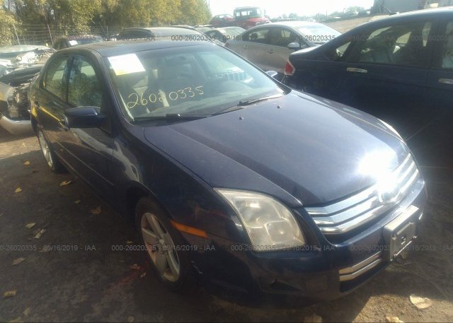 Inventory #179500050 2007 FORD FUSION