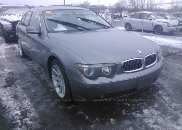 Inventory #837659675 2003 BMW 745
