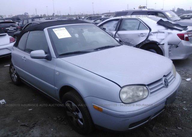 Inventory #784762632 2002 Volkswagen CABRIO