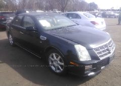 2008 Cadillac STS - 1G6DW67V080110114 Left View