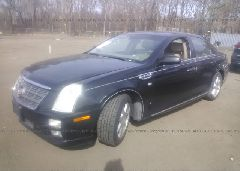 2008 Cadillac STS - 1G6DW67V080110114 Right View