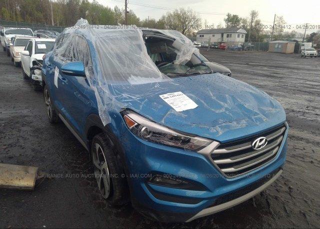 Tucson Car Auction >> Km8j3ca29ju624527 Salvage Blue Hyundai Tucson At Pittston Pa On