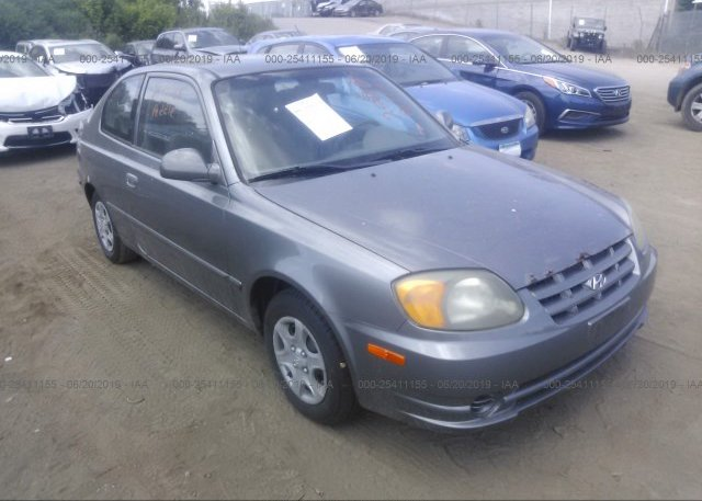 Inventory #340173355 2003 Hyundai ACCENT