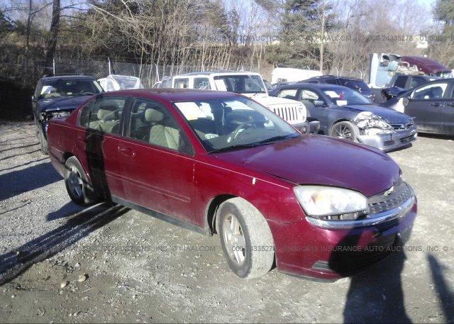 Inventory #694108983 2004 Chevrolet MALIBU