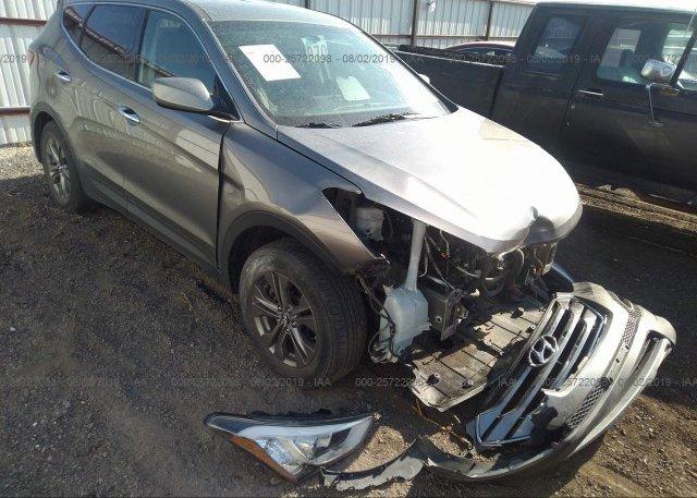 Inventory #820079436 2013 Hyundai SANTA FE SPORT