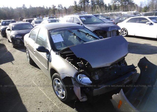 Inventory #673106289 2001 Dodge NEON