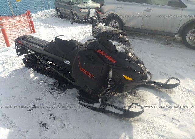 Bidding Ended On 2bpscfgc2gv000088 Salvage Ski Doo Summit Sp 800