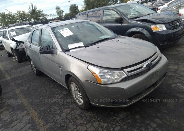 Inventory #608037205 2008 FORD FOCUS