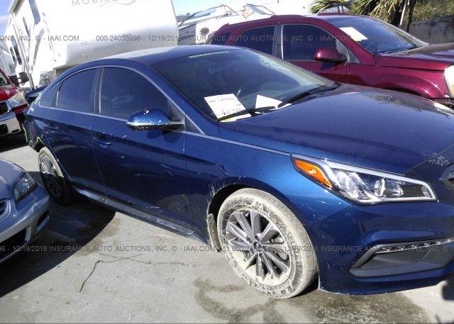 Inventory #375815540 2017 Hyundai SONATA