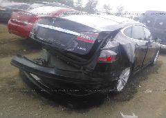 2014 Tesla MODEL S - 5YJSA1H24EFP65500 rear view