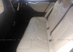 2014 Tesla MODEL S - 5YJSA1H24EFP65500 front view