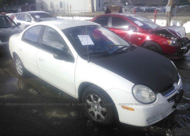 Inventory #488373677 2005 Dodge NEON