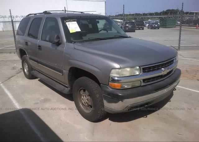 Inventory #980126528 2001 Chevrolet TAHOE