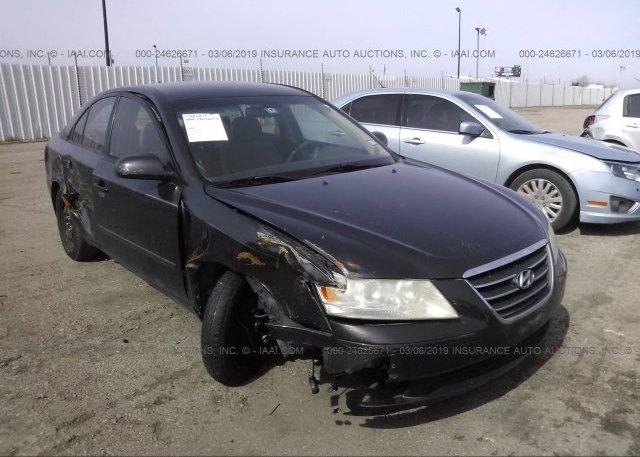 Inventory #891112307 2009 Hyundai SONATA