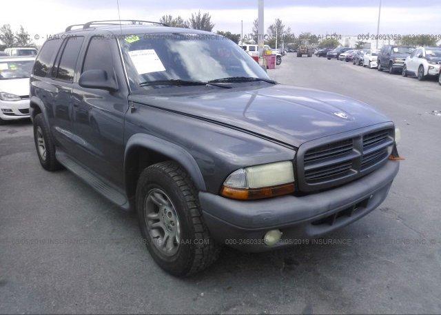 Inventory #915806459 2003 Dodge DURANGO