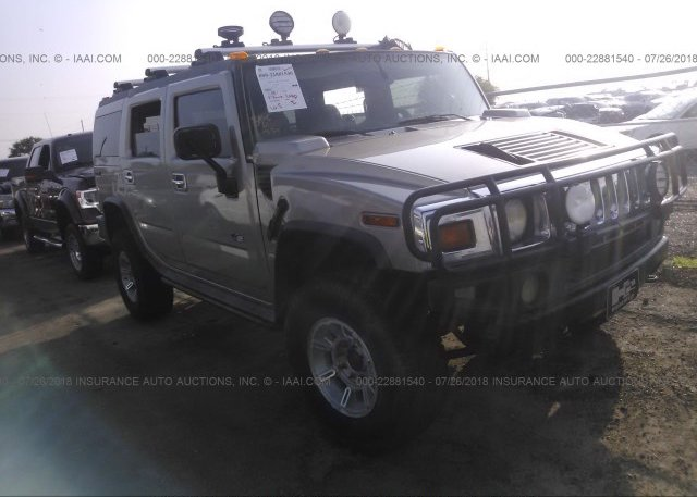 5grgn23u07h108056 Non Repairable White Hummer H2 At Wilmer Tx On