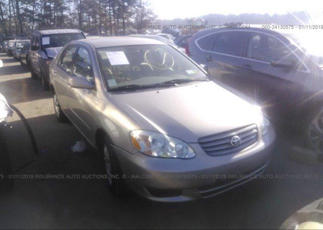 Inventory #186214378 2003 Toyota COROLLA