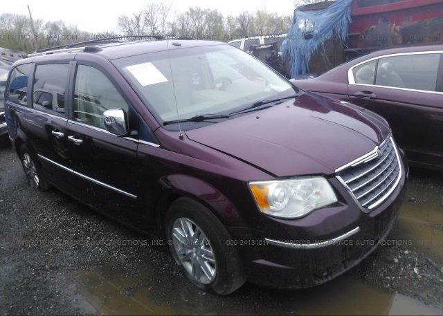 Inventory #101240791 2008 Chrysler TOWN & COUNTRY