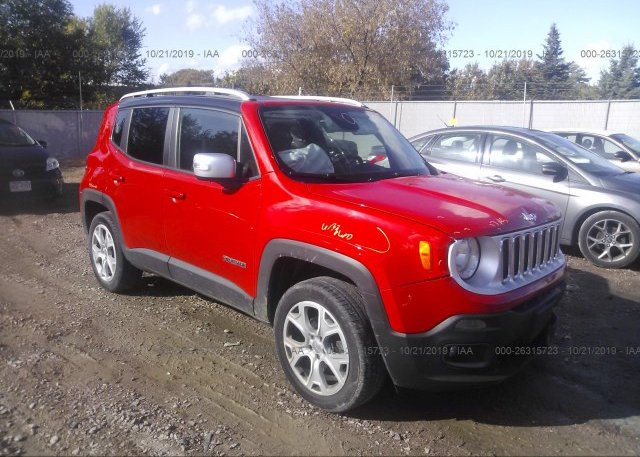 Inventory #429352623 2015 JEEP RENEGADE