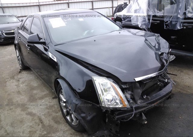 1g6dr57v280174334 Salvage Black Cadillac Cts At Tulsa Ok On Online