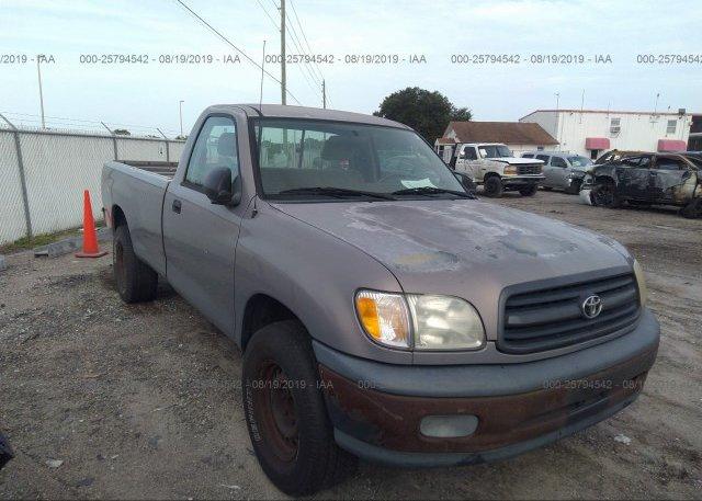 Inventory #827156562 2002 Toyota TUNDRA