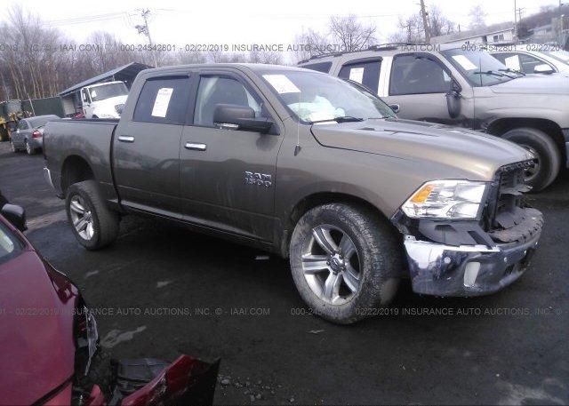 1C6RR7LG4ES423262, Salvage brown Ram 1500 at PITTSTON, PA on